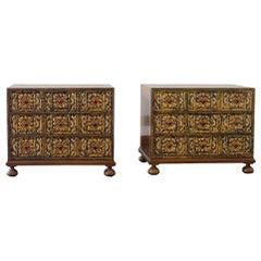 Pair of John Widdicombe Designed Bedside Cabinets