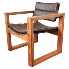 Cubic Lounge Chair by Ate van Apeldoorn for Houtwerk Hattem, The Netherlands 196