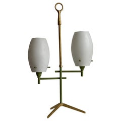 Arredoluce Style Double Orb Table Lamp