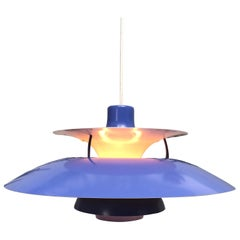 Iconic Vintage Poul Henningsen PH 5 Chandelier Pendant Lamp from the 1960s