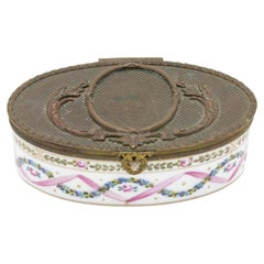 French Victorian Porcelain Box