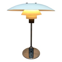 Vintage Poul Henningsen 4/3 Table Lamp from the 1960s