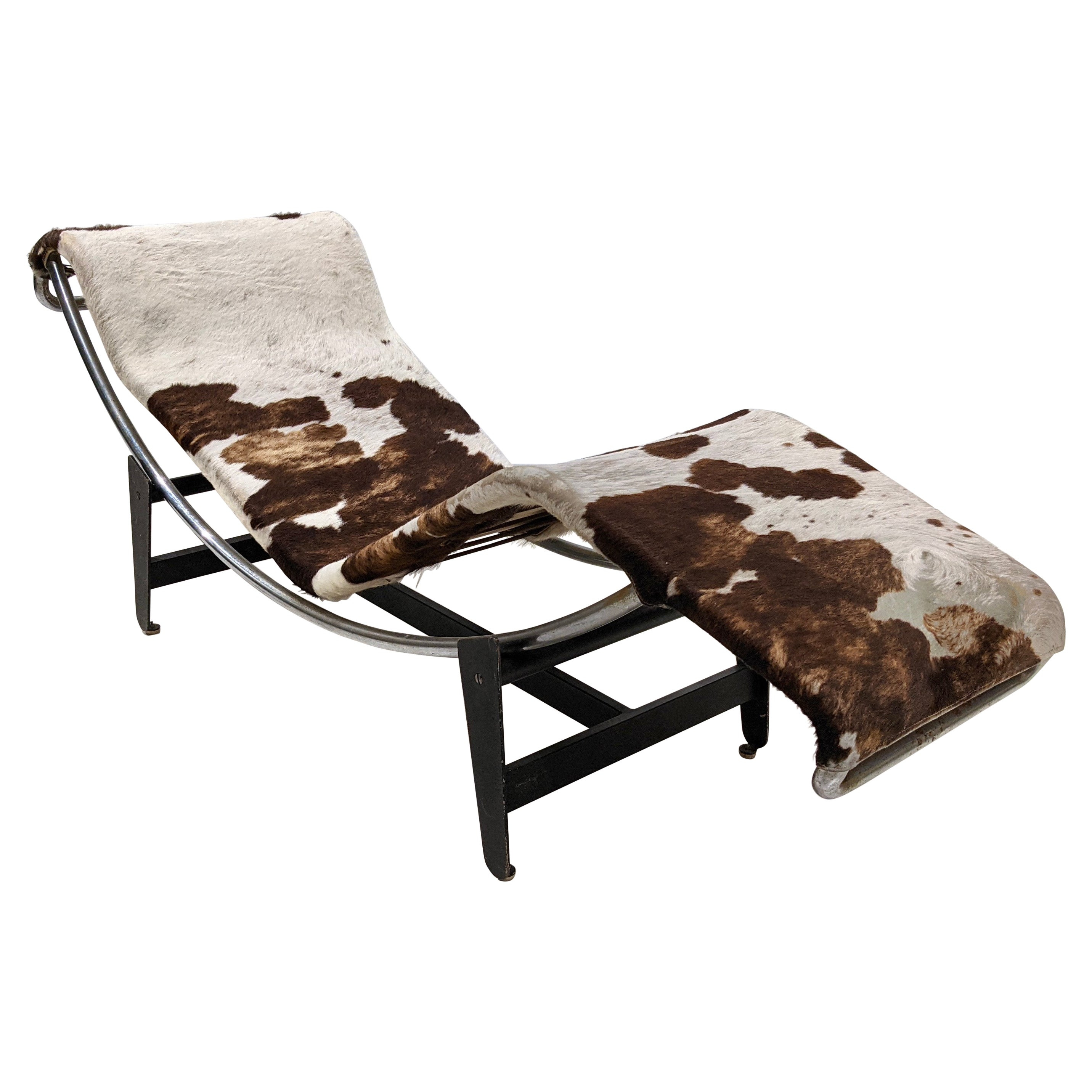 LC4 chaise longue by Le Corbusier and Charlotte Perriand