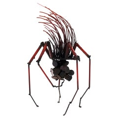 Early Spider Sculpture by James Bearden, Excellent Condition