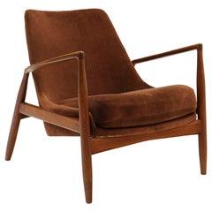 Seal / Salen Lounge Chair by Ib Kofod Larsen for OPE, Sweden, 1950s, Teak Frame