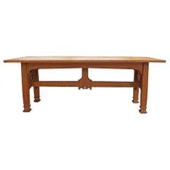 Gothic Revival Oak Table
