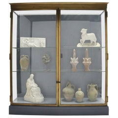 Glass and Bronze Museum Display Cabinet from The V&A