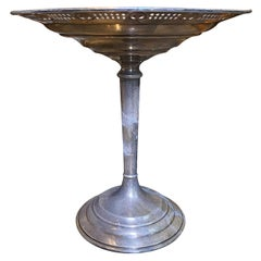 20th Century Weighted Sterling Silver Compote, Marked