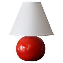 Stig Lindberg, Table Lamp, Ceramic, Gustavsberg, Sweden, 1950s