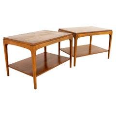 Paul McCobb Style Lane Rhythm Side End Tables, a Pair