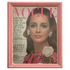 Vogue Magazine October 1968 Framed Cover