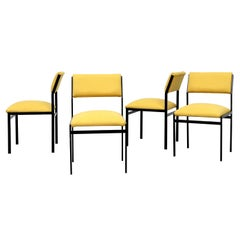 Canary Yellow Cees Braakman Dining Chairs for Pastoe