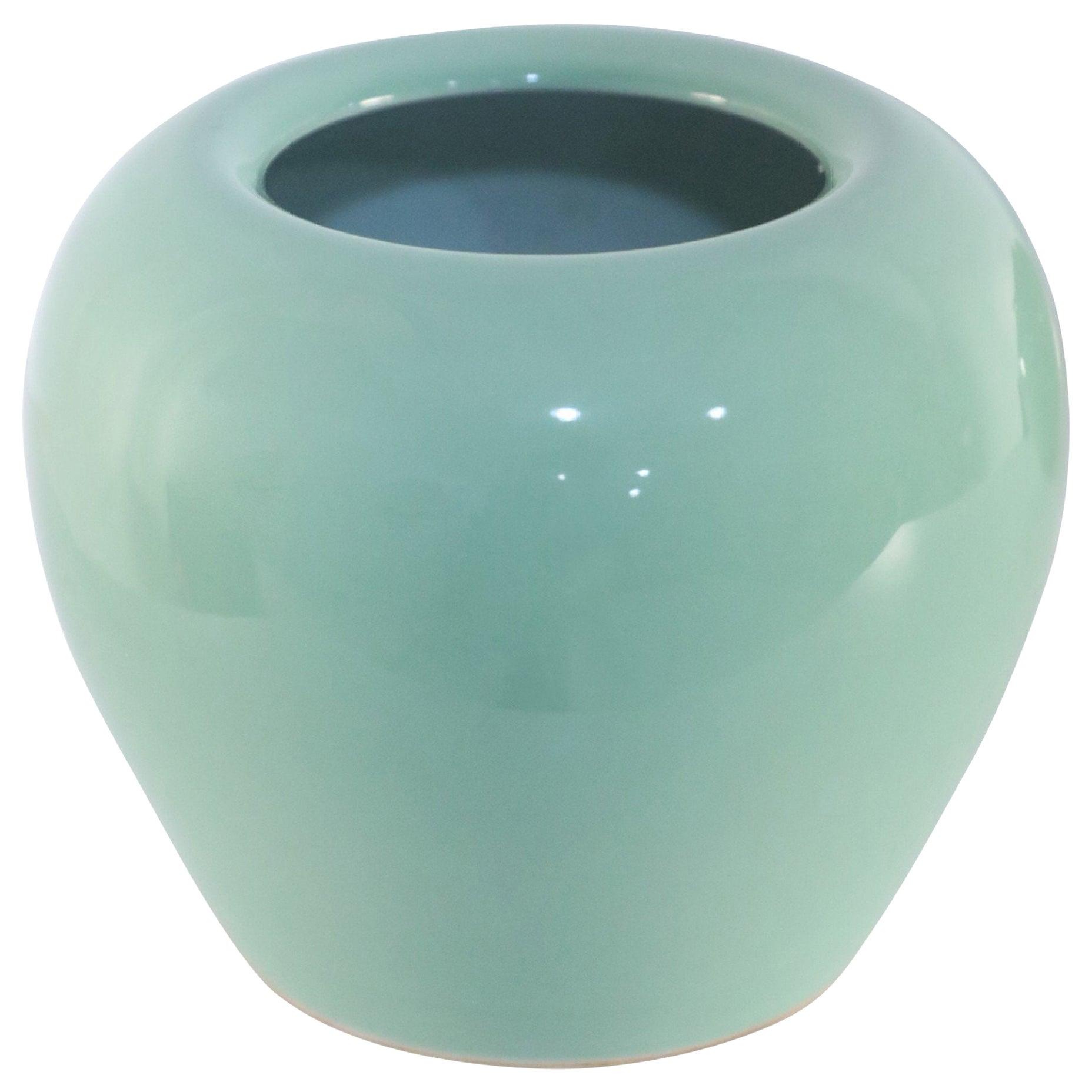 Chinese Celadon Glazed Porcelain Pot
