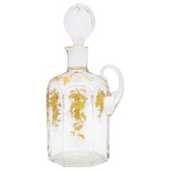 French Victorian Crystal Decanter