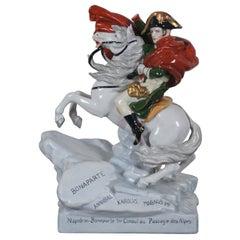Antique Kister Porcelain Napoleon Bonaparte Figurine French Revolution Statue