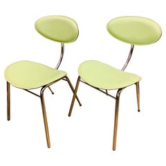 Pair of 1980s Italian Arrben Dining Chairs