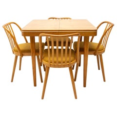 Mid Century Dining Chairs Designed by J.Kobylka, 1960´s, Set of Four