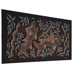 Celestin Kabuya Grand Wall Tapestry