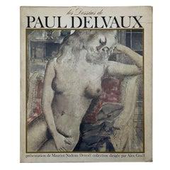 Les Dessins de Paul Delvaux, Maurice Nadeau 1967 1st Edition