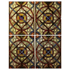 Reclaimed English Stained Glass Windows