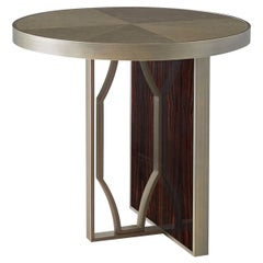 Satin Round Side Table