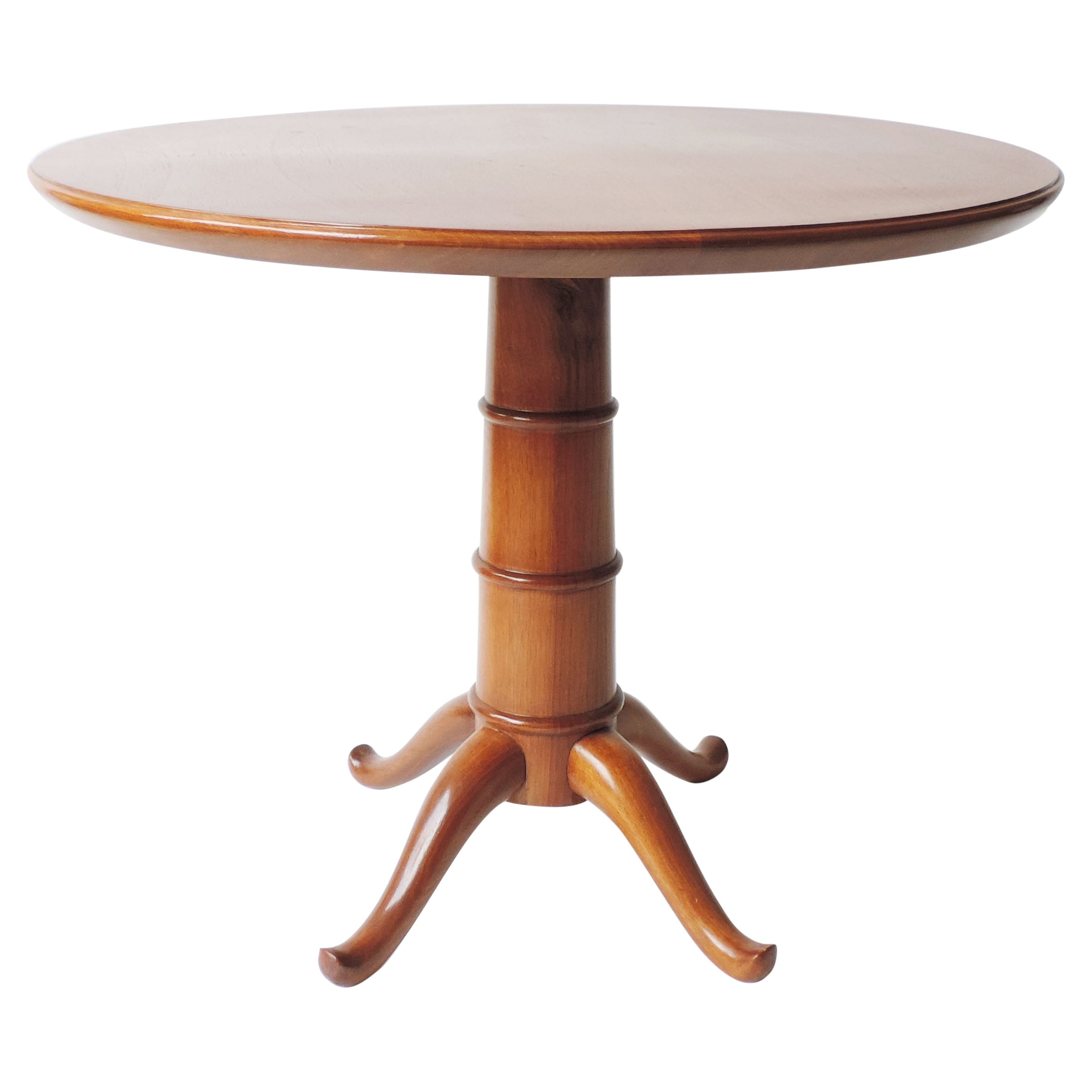 Paolo Buffa Wood Coffee Table, Italy 1940s