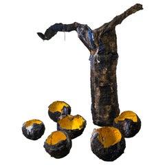 """Contemporary Installation """"WatchMaker Dilemma"""" by Galia Linn, Vessels Sculpture"""