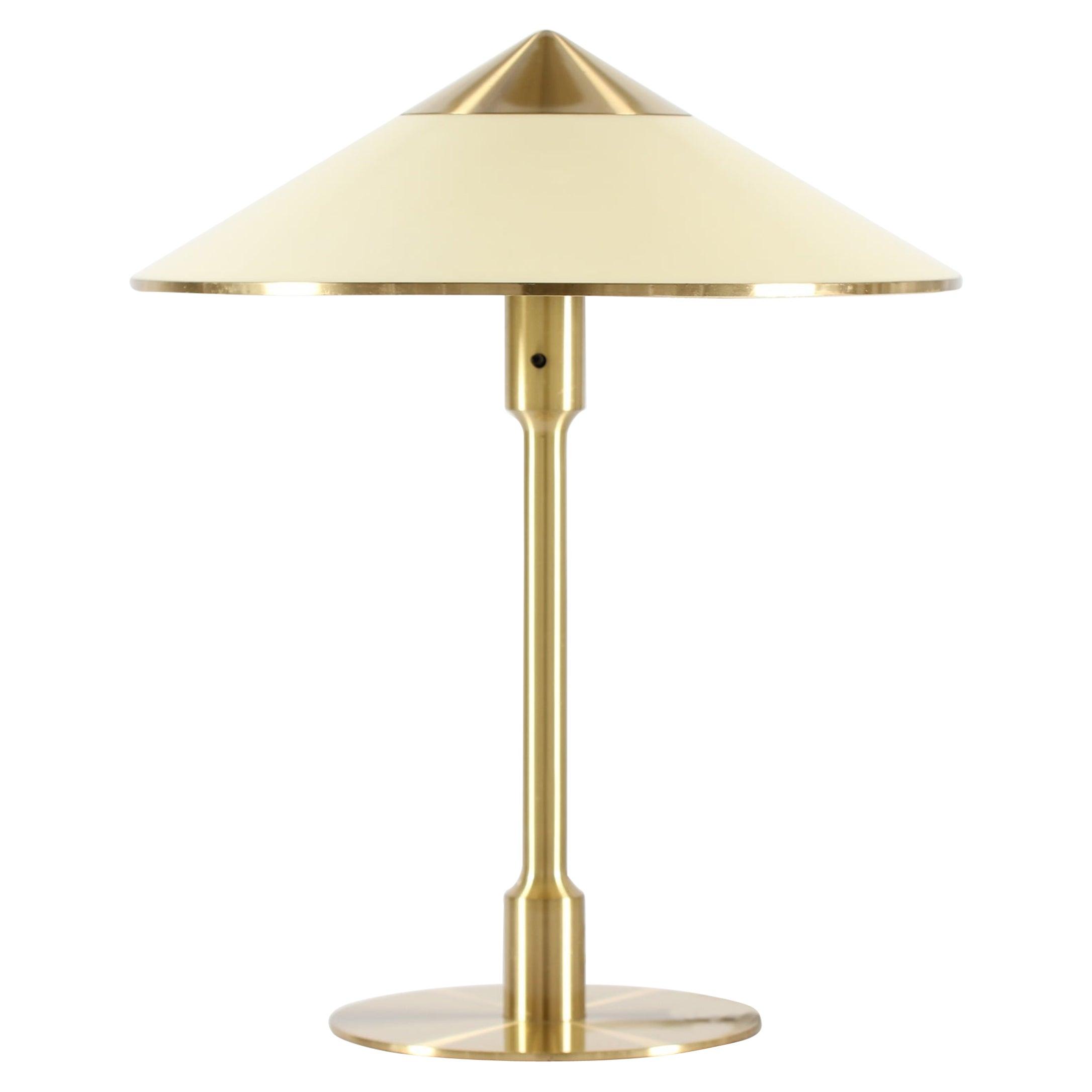 """Vintage """"Kongelys"""" Table Lamp of brass by Niels Rasmussen Thykier + Fog & Mørup"""