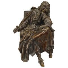 19th Century Pradier French Bronze Figure Signed