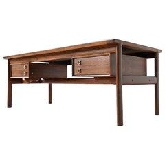 Arne Vodder Rosewood Executive Desk Model 223 Sibast, Denmark, 1960