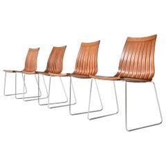 Kjell Richardsen Tönnestav Dining Chairs Tynes Møbelfabrik, Norway, 1960