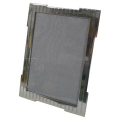 Smart Antique English Sterling Silver Photograph / Picture Frame - 1919