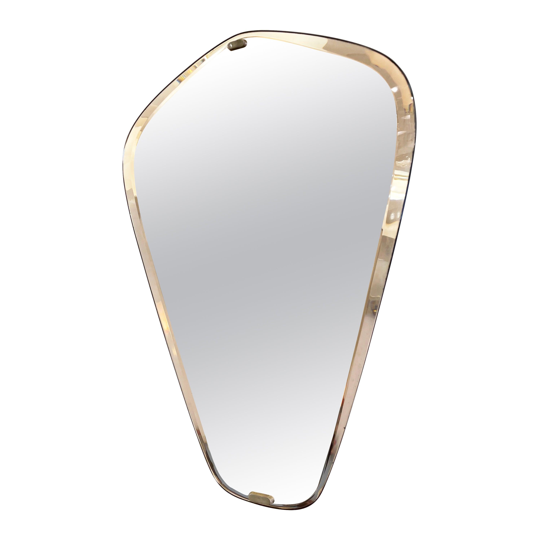 Rose Mirror by Fontana Arte, Italy, 1960s
