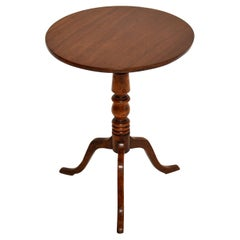 Antique Georgian Tilt Top Tripod Table