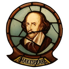 William Shakespear, Antique Stained Glass Window