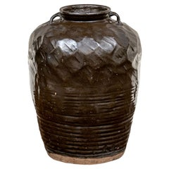 Large Glazed Pottery Jar from Bunny Williams' Trelliage Shop