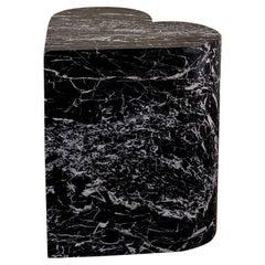 Kelly Wearstler Amorata Marble Heart Stool or Side Table
