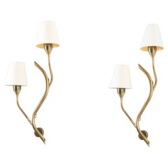 Pair of Wall Lights by Astra, Norway, 1960s