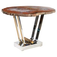 Rare Karl Springer Table