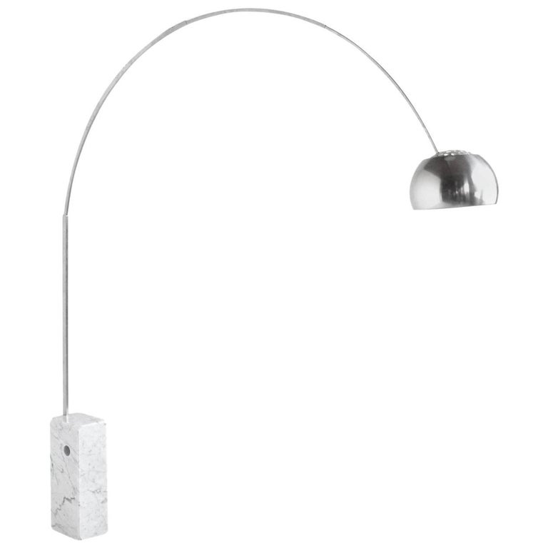 Achille Castiglioni Arco Lamp by Flos For Sale