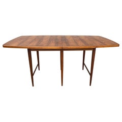 """Modernist Rosewood Dining Table """"Delineator"""" Designed by Paul McCobb"""