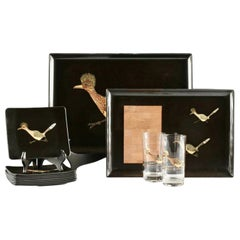 Couroc Roadrunner Drinks and Charcuterie Snack Set