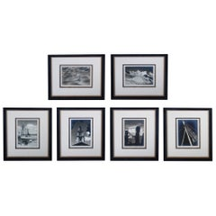 John W. Gregory '1903-1992' Six Gelatin Silver Prints of Views of Provincetown