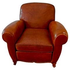 Elegant French 1950's Club Chair