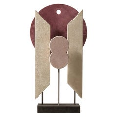 Contemporary Leather Sculpture, Tabou 2 by Stephane Parmentier for Giobagnara