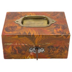 English Decoupage Dog Box