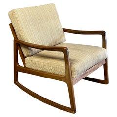 Ole Wanscher Danish Modern Model 120 Rocking Chair