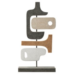 Contemporary Leather Sculpture, Tabou 4 by Stephane Parmentier for Giobagnara