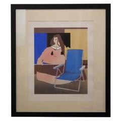 "Pop Art ""Meninas"" Spanish Lithography, Spain, 1980"
