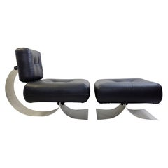 Mid-Century Lounge Chair Model 'Alta' by Oscar Niemeyer, 1970s